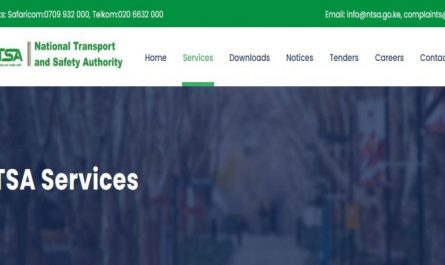 How to Open an Account and login to NTSA TIMS account