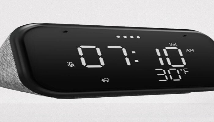 Lenovo Smart Clock Essential Manual and Specifications