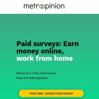 Earn Money Online with Paid Surveys on Metroopinion